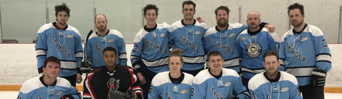 Alcon in the Electrical Hockey Tournament